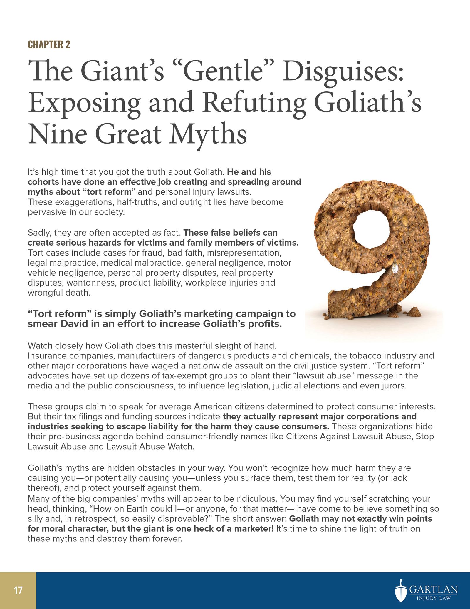David vs Goliath Ebook preview